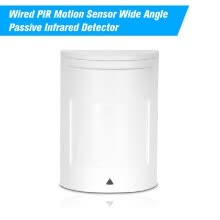 -Wired PIR Motion Sensor Wide Angle Passive Infrared Detector For Home Burglar Security Alarm System on JD