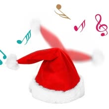 -Novelty Creative Dance Music Christmas Hat Kids Gift  Music Christmas Hat on JD