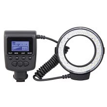 flashes-RF-550D RF 550D Macro 48 pieces LED Ring Flash Light for Canon Nikon Pentax Olympus Panasonic DSLR on JD