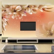 -Custom 3D Photo Wallpaper Modern Flower Wall Mural Wall Paper Living Room Sofa TV Background Non-woven Fabric Wallpaper Bedroom on JD