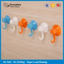 bathroom-accessories-Suction hook, suction wall, bathroom, strong vacuum hook, kitchen and toilet, no punching, no mark sticking hook on JD