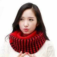 875062531-Infinity Scarf Knitting Wool Fashion Female Clothing Accessories Women's Winter Essential on JD