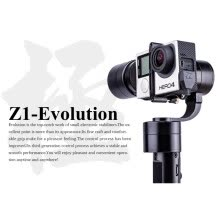 cameras-accessories-zhiyun z1-evolution EVO 3 оси кпк стабилизатор brushless траектории для gopro герой 4 xiaomi и sj4000 sj5000 спорта камеры on JD
