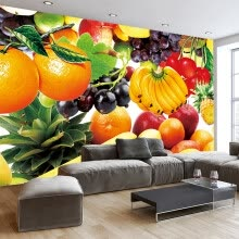 -Fresh Fruit Custom 3D Photo Wallpaper Murals Restaurant Living Room TV Background Wall Home Interior Decoration Art Design Mural on JD