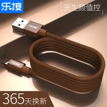 -LEGO LEJIE Type-C Data Cable/Cell Phone Charger Plus 2 Meter Brown For Huawei P10/nova Glory 8/9 Millet/Nutty/Lecton LUTC-1200D on JD