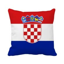 -Croatia National Flag Europe Country Square Throw Pillow Insert Cushion Cover Home Sofa Decor Gift on JD