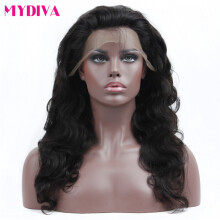 Lace Wigs Allrun Body Wave Side Part Lace Front Human Hair Wigs Bob Wig Women Natural Ear To Ear Malaysia Remy Human Hair Lace Front Wigs Hair Extensions & Wigs