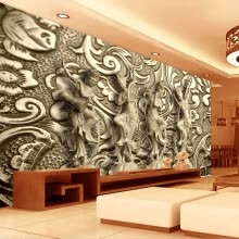 -3D Wallpaper Stereo Embossed Statue Mural European Style Vintage Living Room TV Sofa Creative Decor Wallpaper Papel De Parede 3D on JD