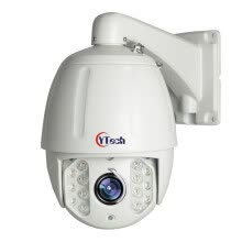 87502-CYTech Security H.265/H.264 4MP HD 2K @30FPS Real-time IP High Speed Onvif Network Dome PTZ Camera 18X Optical Zoom Waterproof Out on JD
