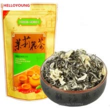 -Early Spring Green Tea with jasmine Hua Mao Feng Huangshan Maofeng 50g jasmine tea fragance tea on JD