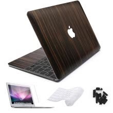 -Vinyl Decal laptop Sticker for Apple Macbook Pro Air 11 12 13 11 15 Wood Grain Skin Cover for Mac book pro 13 15 Touch bar on JD