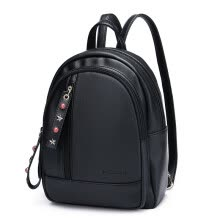 -Scarecrow (MEXICAN) backpack female wild fashion Korean version of the tide backpack MMN60784L-05 black on JD