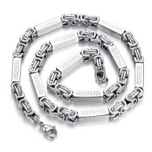 -Yoursfs® New Stainless Steel Necklace Unique Jewelry Mens Classical Titanium Steel Chain on JD