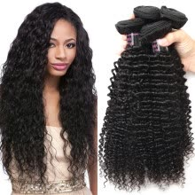 -Ishow 8A Malaysian Virgin Hair Kinky Curly 4 pcs Malaysian Curly Virgin Remy Hair Malaysian Hair Weave Bundles Virgin Hair on JD