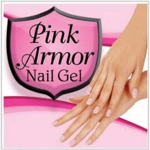 -Hot Sales Pink Armor Nail Gel Polish Remedy Fix Protective Layer Keratin-Gel on JD