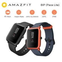 -New Original Xiaomi Mi Huami Amazfit Bip Smart Watch 1.28 Smartwatch Pace Lite Bluetooth 4.0 GPS GLONASS Heart Rate 45 Days IP68 on JD