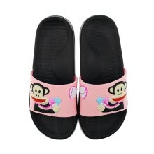 -PaulFrank big mouth monkey slippers men and women couple models fashion outdoor beach shoes soft bottom bathing PF637 pink 40 on JD