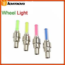 -LED Bicycle Cycling Wheel Lights LED Tyre Tire Valve Caps Wheel Spokes Colorful light Waterproof Bike Accessories on JD