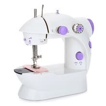 sewing-Mini Automatic Thread Sewing Machine Double Speed Control Button on JD