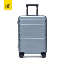 875062575-Xiaomi Ecosystem 90FUN SEVEN-Bar Business Travel Suitcase PC Carry on Spinner Wheel Luggage 20 Inch for Woman Man on JD