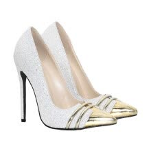 -2018 fashion Pumps Thin High Heels Women Shoes party shoes for woman plus size white color on JD