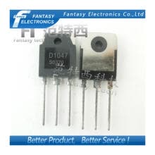 -10PCS 2SD1047 TO247 D1047 TO-3P POWER TRANSISTORS new and original IC free shipping on JD