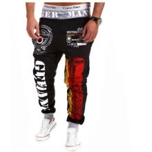 875068681-Zogaa New Men's Active Pants Fashion Printing Casual on JD