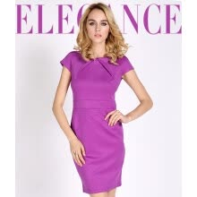 -Womens Ladies New party Style Purple Offices Business Bodycon Dresses on JD