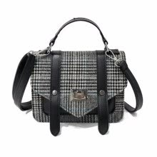 -new women plaid totes hotsale hasp cover small flap single handbag lady party messenger crossbody shoulder bags on JD
