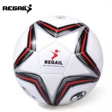 87505-REGAIL Size 5 PU Star Competition Training Soccer Ball Football on JD