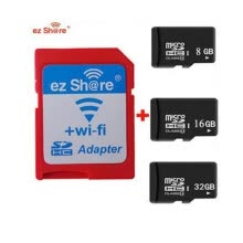 -Ezshare High Speed ​​Wireless WIFI WLAN SD Card Adapter Micro ez share SD card to SD Wifi Adapter 8gb 16gb 32gb TF card on JD