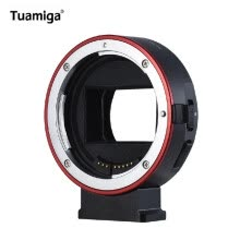 camera-lens-accessories-Tuamiga EF-NEX7 High Speed Auto Focus Lens Mount Adapter for Canon EF Lens To E-mount Camera for Sony A9 A7 A7R Mk2 A6300 A6500 on JD