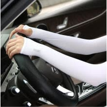 sleeves-Summer ice silk sleeves Running for men and women for protection arm cover Outdoor driving ride Thin ice sleeves on JD