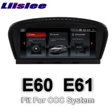 -For BMW 5 E60 E61 CCC system 2003~2007 LiisLee Multimedia GPS Audio Hi-Fi Radio Stereo Original Style For CCC Navigation NAVI on JD