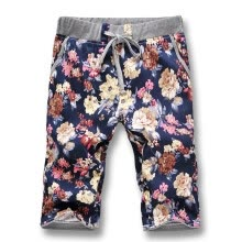 -New Summer 2016 Men Shorts Beach Casual Men Shorts Fashion Designers Flowers Men Shorts Plus Size 5XL Hot Sale Free Shipping on JD