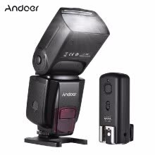 flashes-Andoer AD560 IV 2.4G Wireless Universal On-camera Slave Speedlite Flash Light GN50 with Flash Trigger for Canon Nikon for Sony A7/ on JD