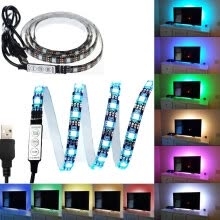 fairy-lights-KWB 5V TV Backlight 5050 RGB Водонепроницаемый 60LEDs / M с контроллером on JD