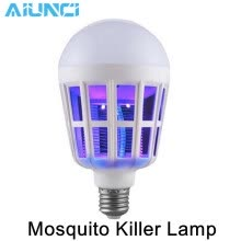 -Mosquito Killer Lamp 110V / 220V 2 in 1 LED Bulb E27 9W / 15W Pest Control Light on JD