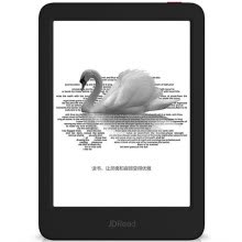 -[New product debut]JDRead1 Jingdong independent research and development of new e-book reader 6-inch 300ppi ink screen reading light black electronic paper book on JD