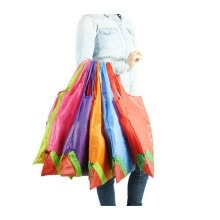 fashion-bags-Cute Eco Storage Handbag Shopping Bag Strawberry Reusable Foldable Tote Bag Shopper on JD