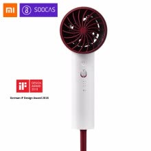 hair-dryer-2018 New Xiaomi Soocare Soocas H3 Anion Hair Dryer Aluminum Alloy Body 1800W Air Outlet Anti-Hot Innovative Diversion Design on JD