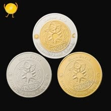 badges-Western tarot wishing Coin Sun and Moon Constellation Coin Lucky Feng Shui Coins on JD