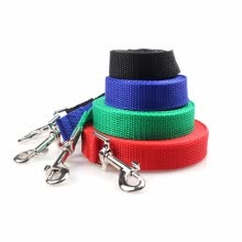 collars-harnesses-leashes-Cntomlv Pet dog leash nylon Leash for dogs 4 Colors 10M Walking Training Leash Cats Dogs Harness Collar Leash Strap Belt on JD