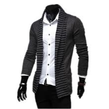 -Zogaa New Spring Men's Knitting Cardigan Casual Fashion on JD