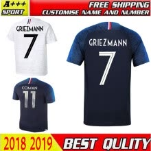 8750510-Thailand France Soccer jerseys 2018 world cup Maillot de foot GRIEZMANN 7 POGBA 6 MBAPPE 10 KANTE Jersey football kits DEMBELE soc on JD