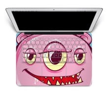 -GEEKID@Macbook Air 13 decal keyboard sticker keyboard full decal mac keyboard sticker US style face keyboard protector on JD