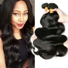 -CLAROLAIR Hair Products Brazilian Virgin Hair Body Wave Brazilian Hair Weave Bundles Unprocessed Human Hair Extension 4 bundles on JD