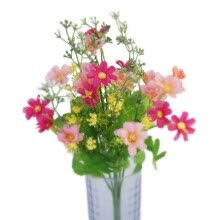 artificial-plants-1Bunch Artificial Fake Silk Daisy Flower Bouquet Home Wedding DIY Party Decors on JD