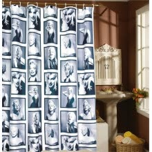 other-bathroom-products-MyMei 180cm*180cm 71 inch Waterproof Mouldproof Marilyn Monroe Shower Curtain European Style 96013 on JD