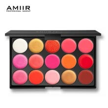 -AMIIR Lipstick Palette Makeup 15 colors Lips Pigment Moisturizer Lasting Beauty Cosmetic Velvet Matte Lip Gross on JD